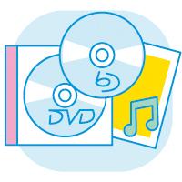 CD DVD ブルーレイ